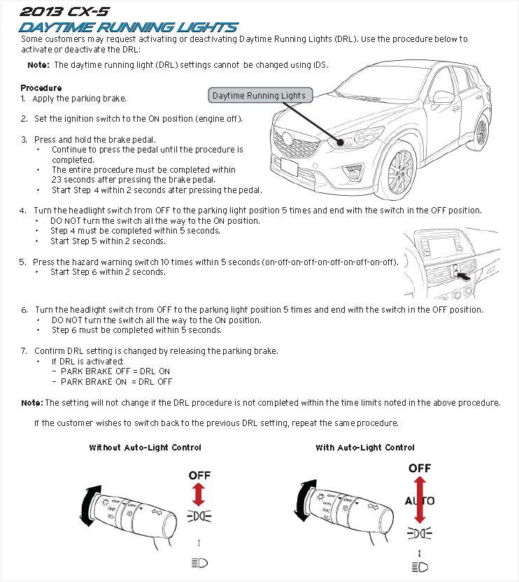 2017 Touring Auto Headlights? : CX5
