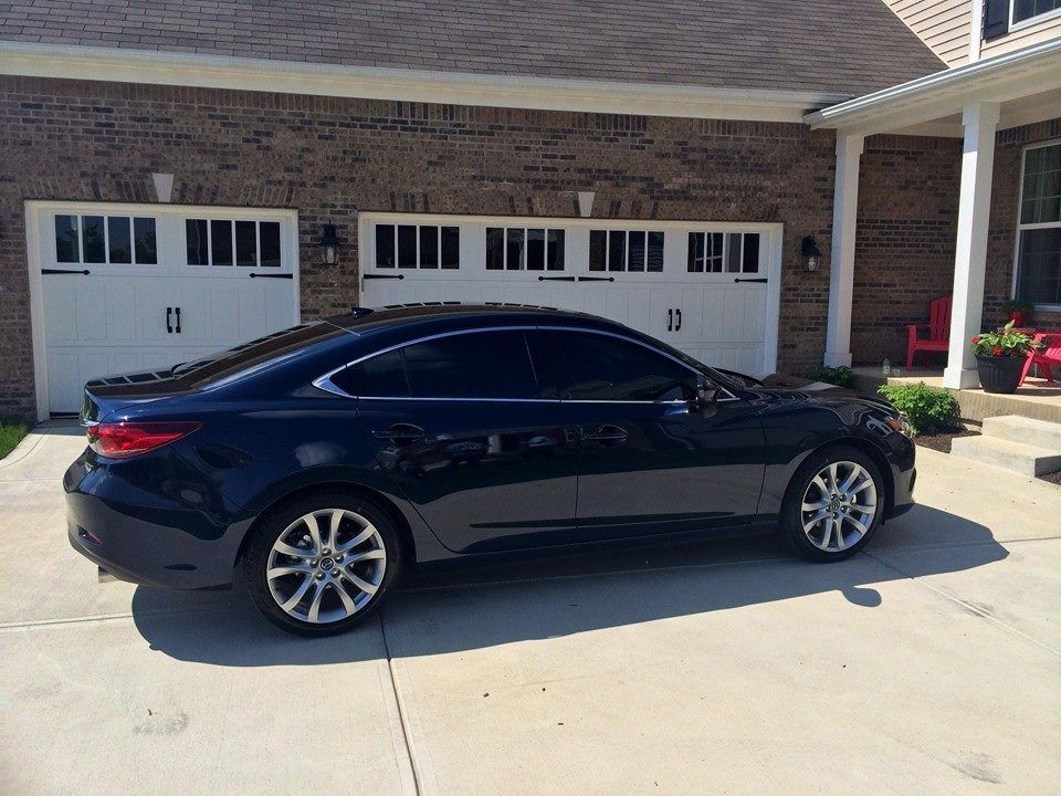 2015 mazda 6 with limo tint. Black Bedroom Furniture Sets. Home Design Ideas