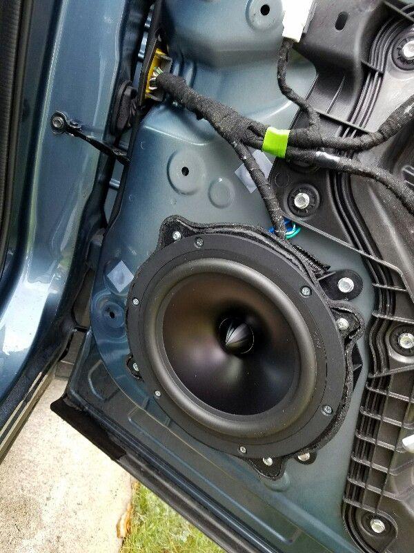 2014 Bose Speaker Replacement - Front Door