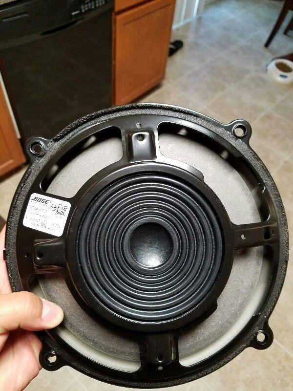 bose door speakers. and dayton audio rs-225-4 pioneer ts-sw2002d2 shallow mount 8\ bose door speakers