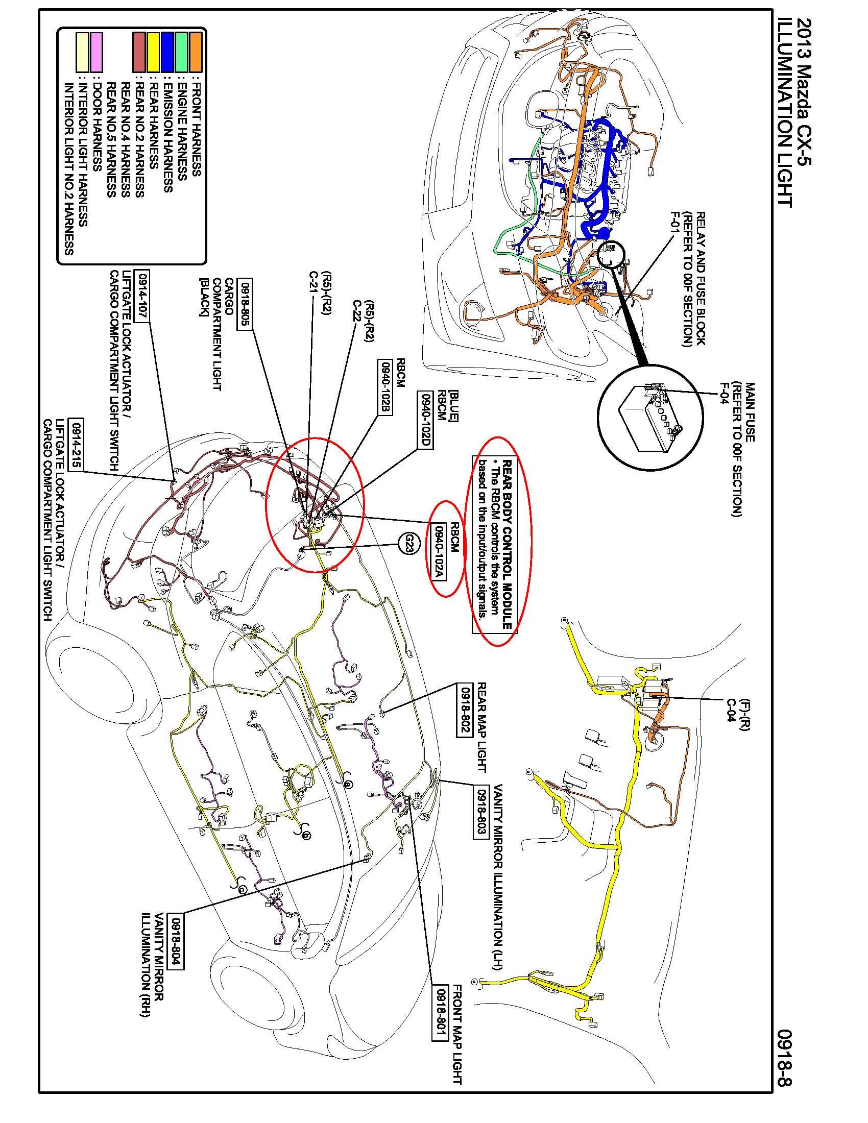Mazda 3 Door Diagram Great Design Of Wiring 2008 Surprising Mx Rear Harness Gallery Best 2005