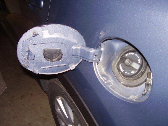 Gas cap teather - Broke off!