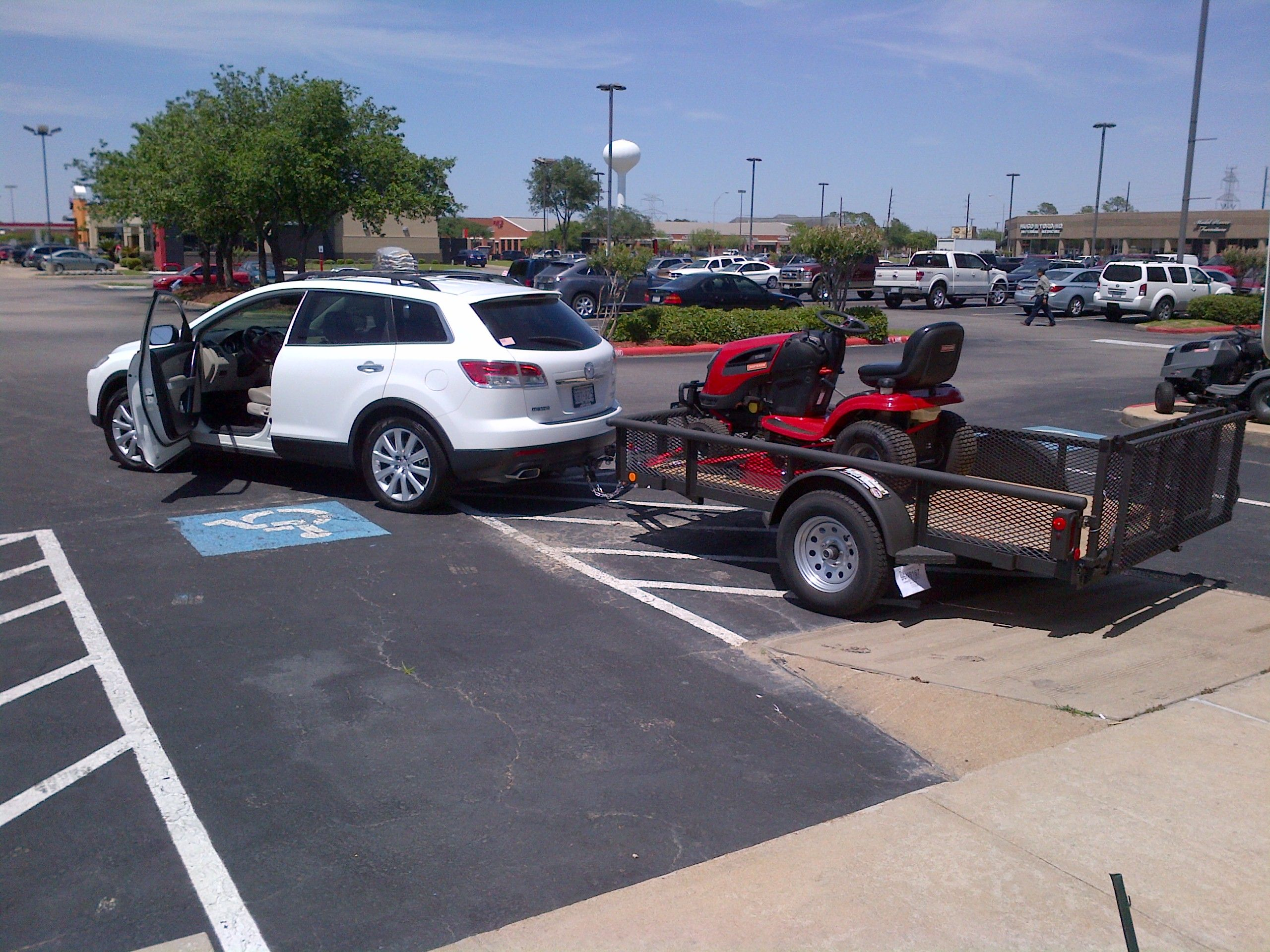 2012 cx 9 towing capacity