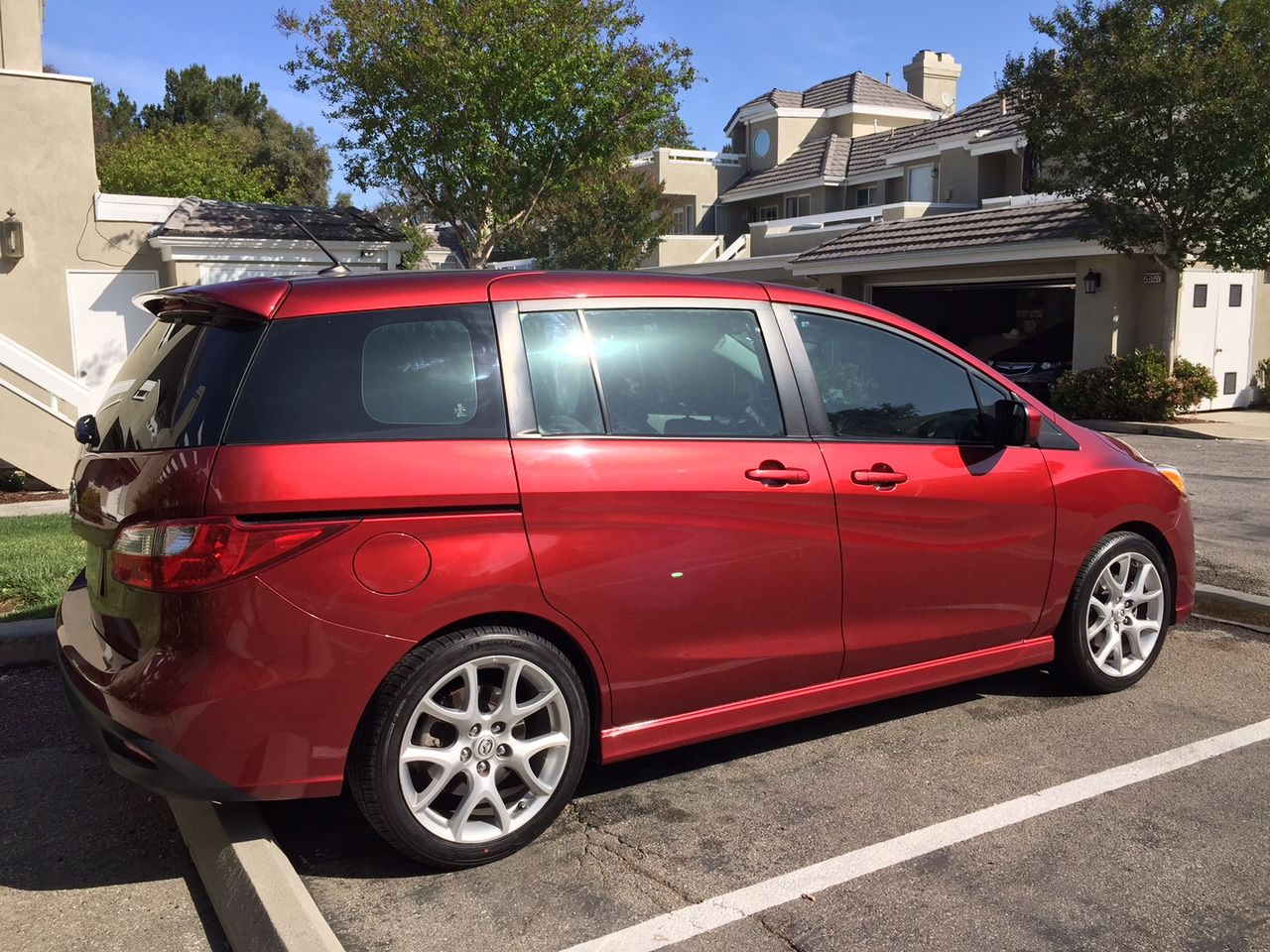 Added 800 Lift Kit To My Mazda5