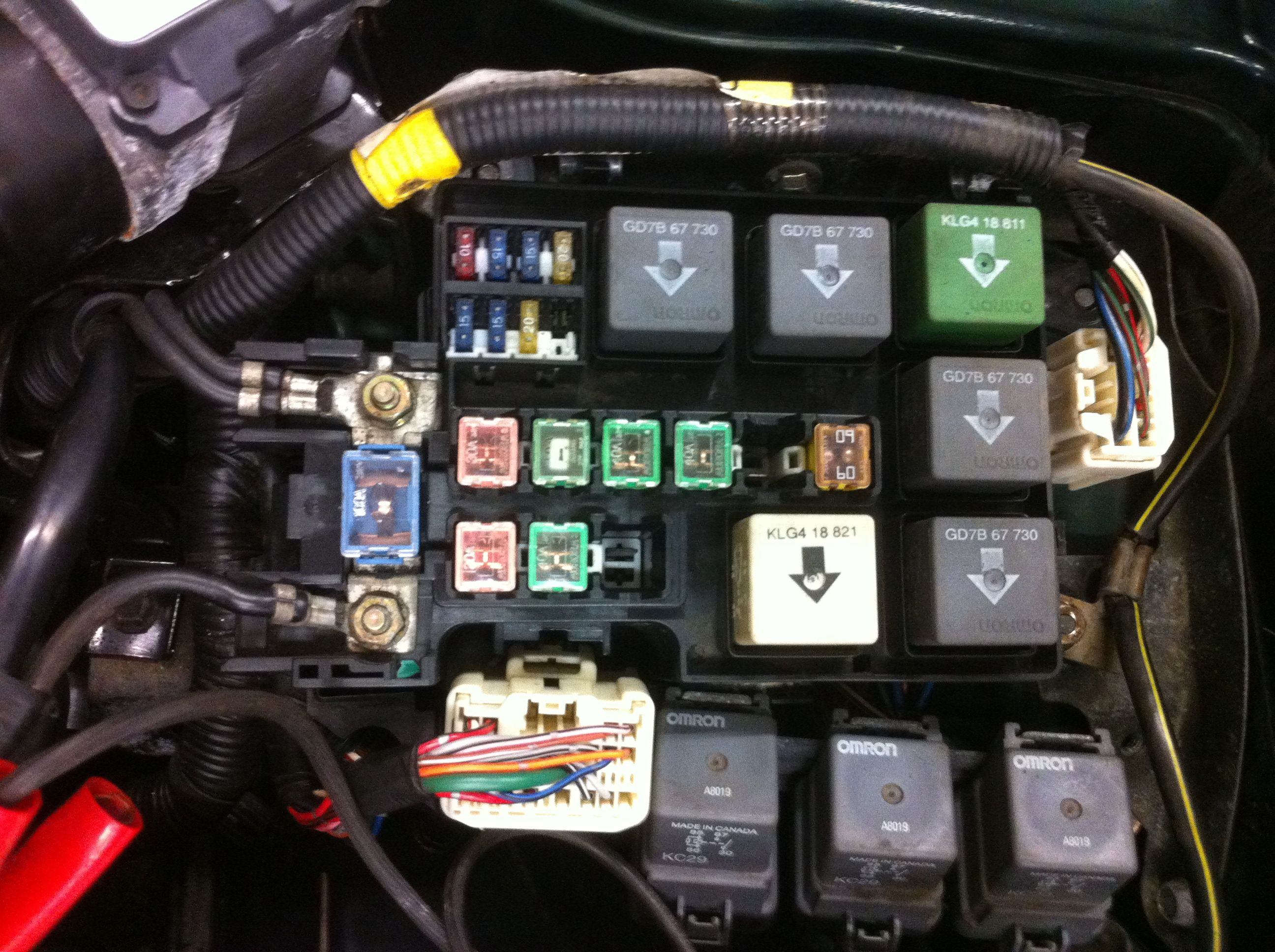 2000 Mazda Fuse Box Great Design Of Wiring Diagram 1999 Protege B2500