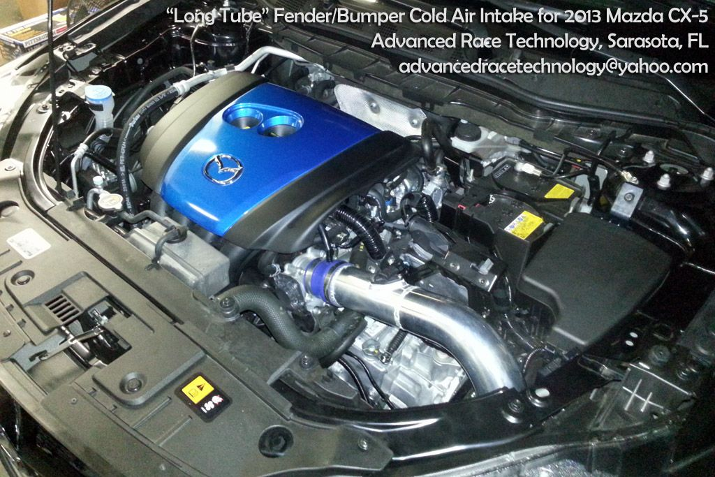 """Advanced Race Technology """"long tube"""" cold air intake made ..."""