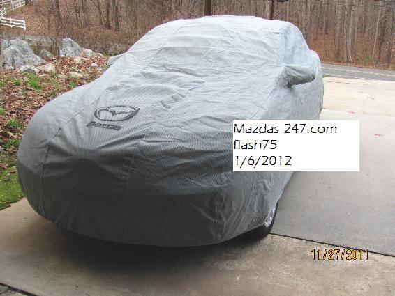 Mazda Car Cover 1 Jpg