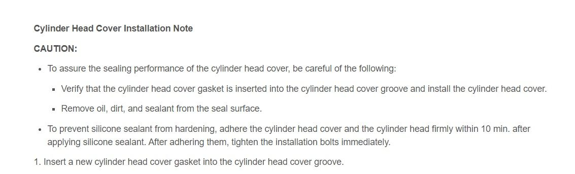 Mazda CX-5 Cylinder Head Cover Installation Note_01.jpg