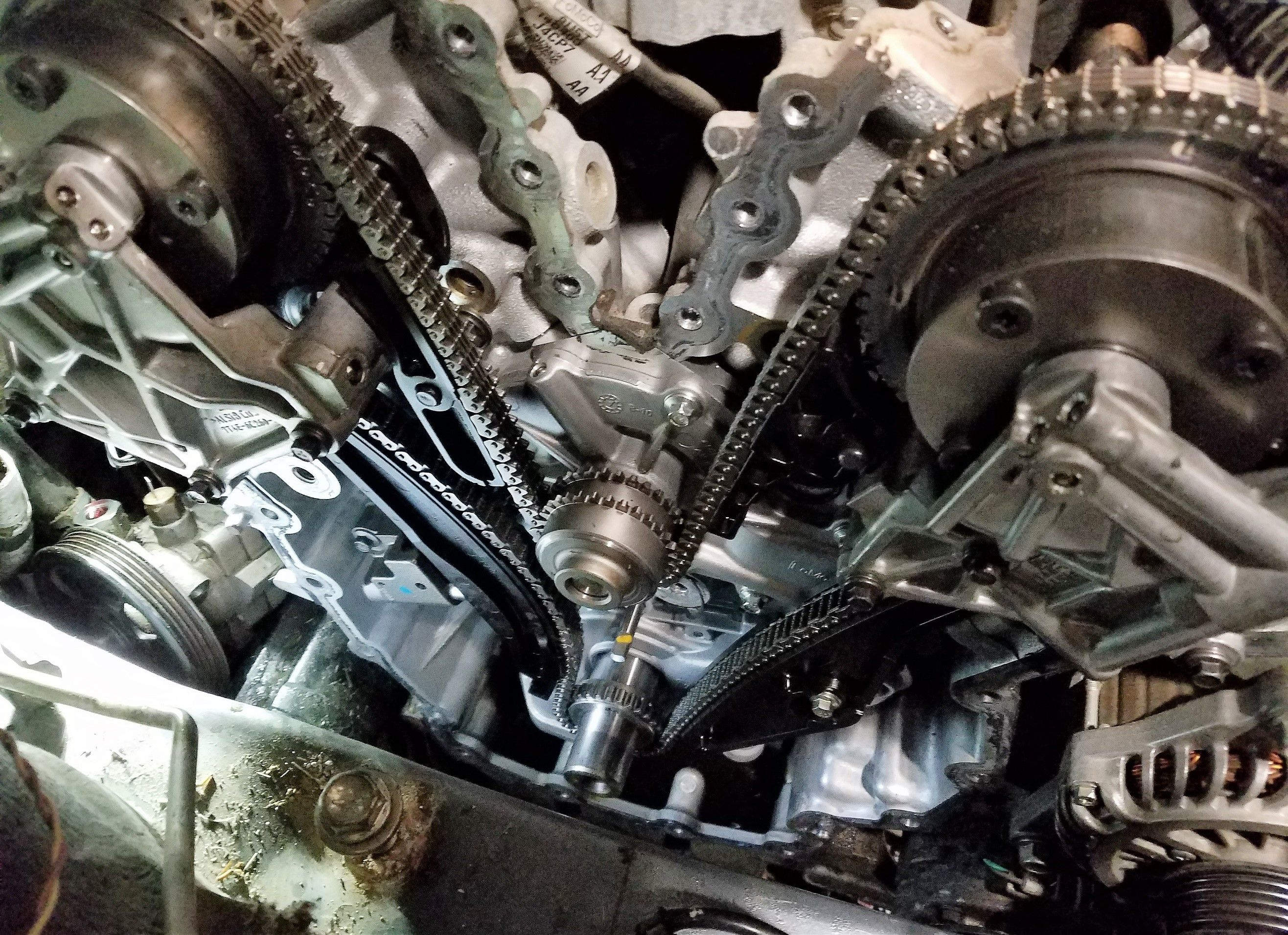 Cx 9 Timing Chain Water Pump And Vvt Engine Does Not Need To Be 40 Ford V6 Diagram Mazda Cx9 2