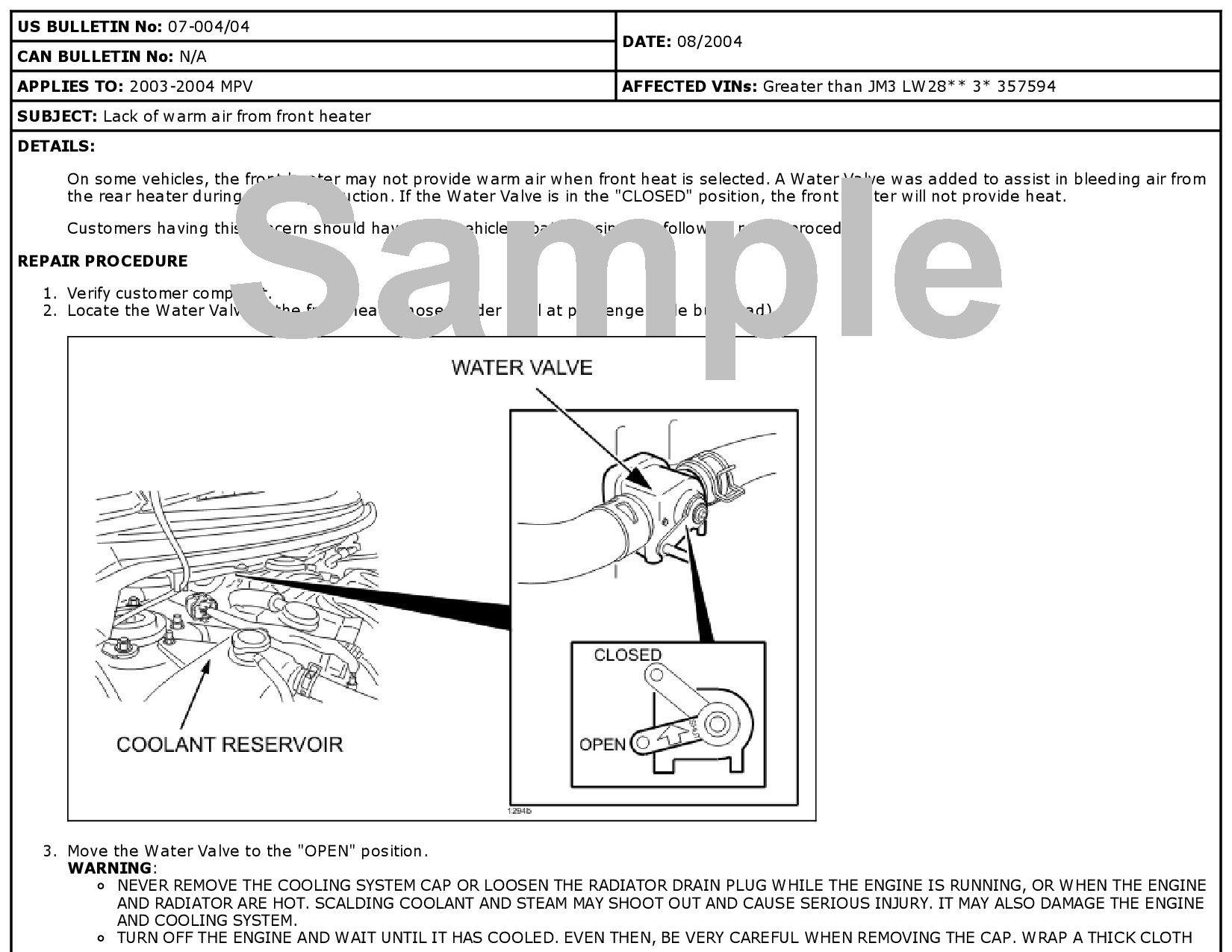 Mazda MPV Technical Service Bulletin-0.jpgMazda ...