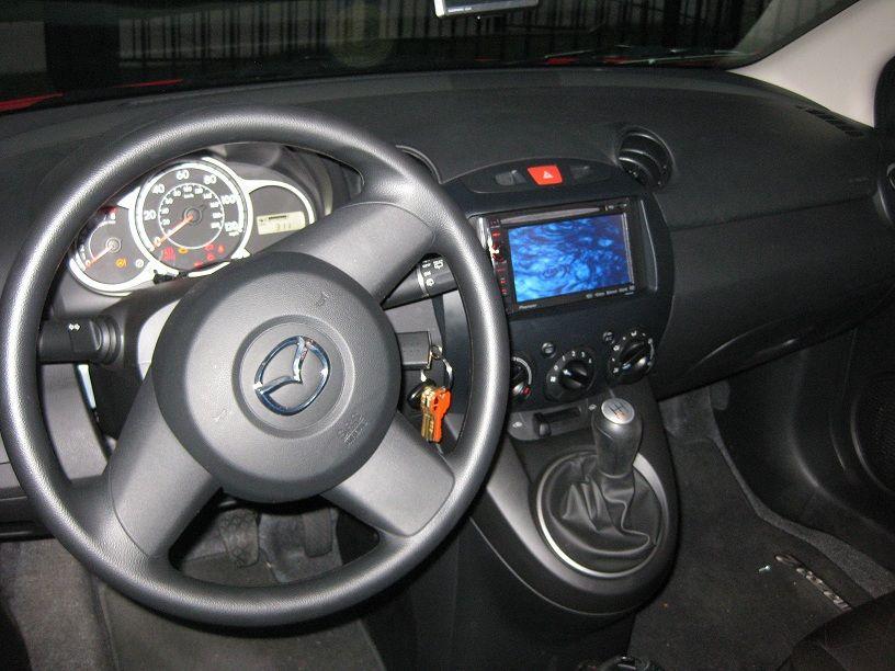 Installed Pioneer X930BT in my Mazda2