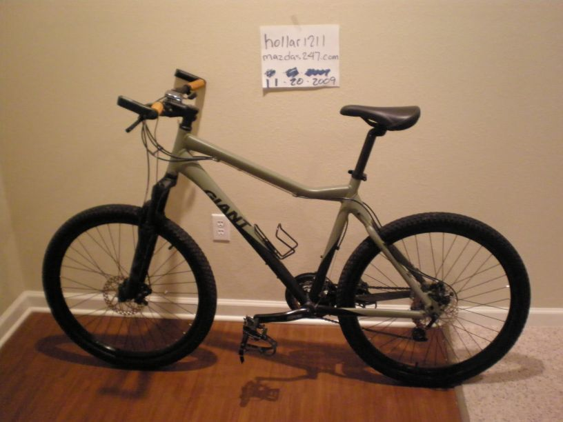 2008 Giant Rincon Mountain Bike