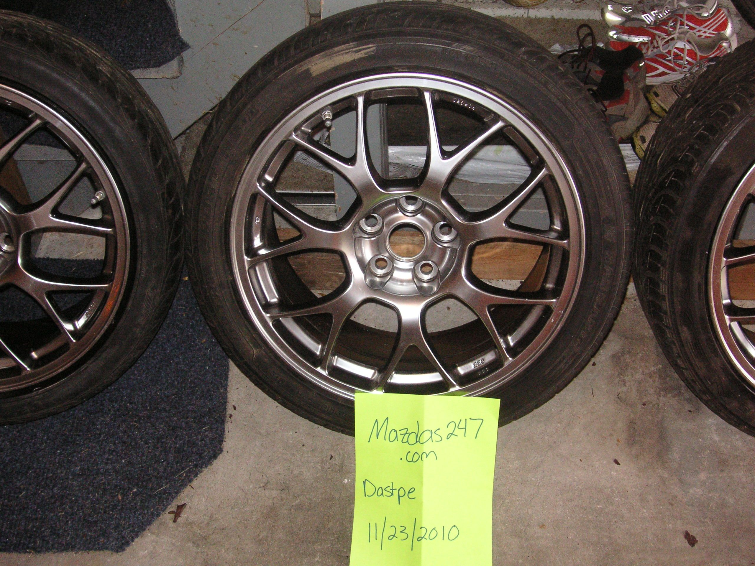 Evo X Mr Bbs Forged Wheels For Sale