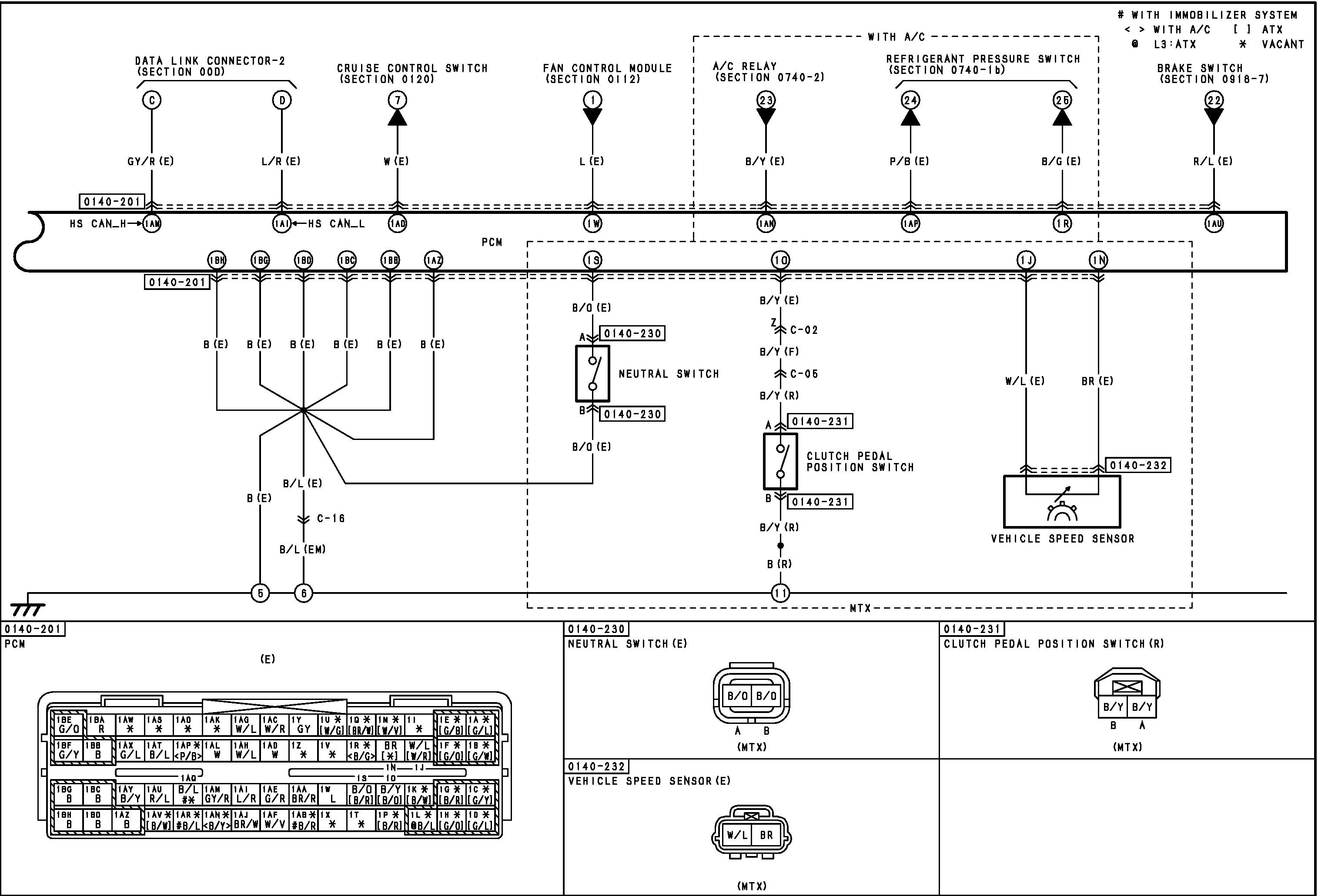 Mazda 3 VSS wire info (large diagrams) | Mazdas247Mazdas247