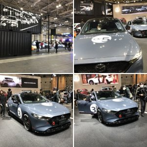 Mazdas at Osaka Automesse 2020