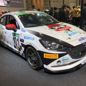 Mazda2 / Demio Race car in Japan p1